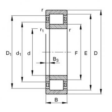 Cylindrical Roller Bearings Distributior NUP2312-E-TVP2 FAG