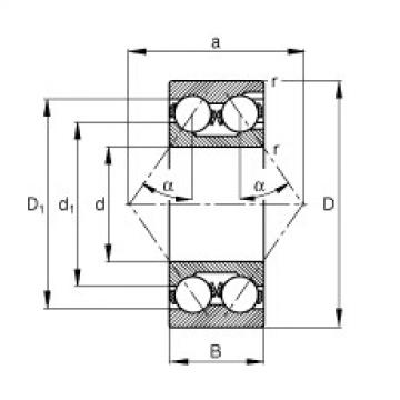 angular contact thrust bearings 3220 FAG