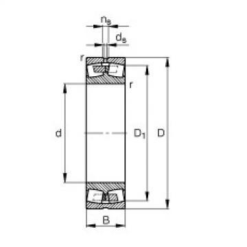 Spherical Roller Bearings 23096-MB FAG
