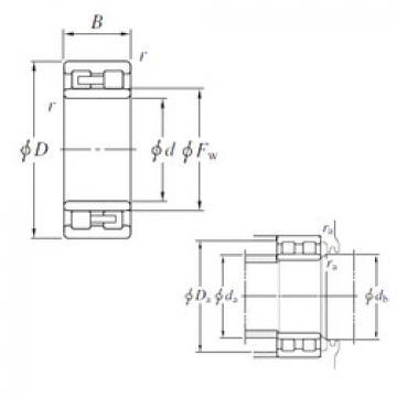 Cylindrical Roller Bearings Distributior NNU49/670 KOYO