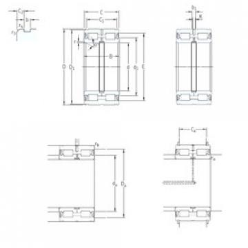 Cylindrical Roller Bearings Distributior NNF5022ADA-2LSV SKF