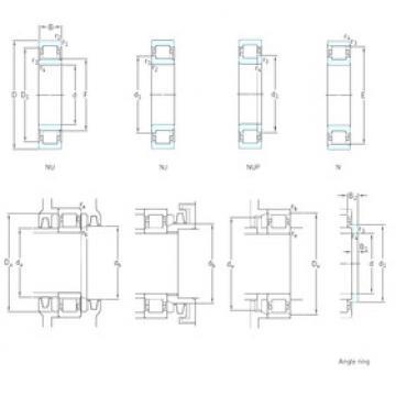 Cylindrical Roller Bearings Distributior NU2348ECMA SKF
