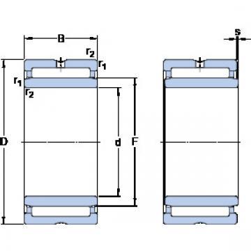 Cylindrical Bearing NKIS 40 SKF