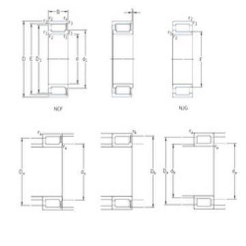 Cylindrical Bearing NCF3076V SKF