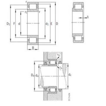 Cylindrical Bearing NJ252-E-M1 FAG