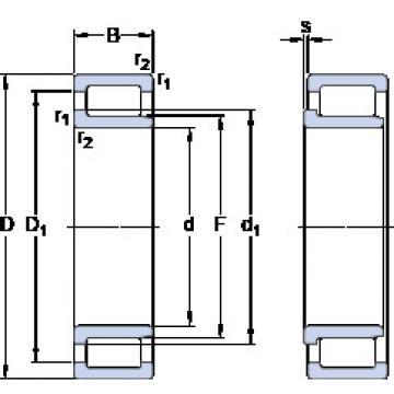 Cylindrical Bearing NJG 2305 VH SKF