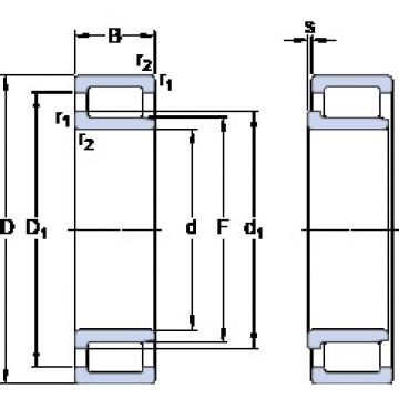 Cylindrical Bearing NJG 2338 VH SKF
