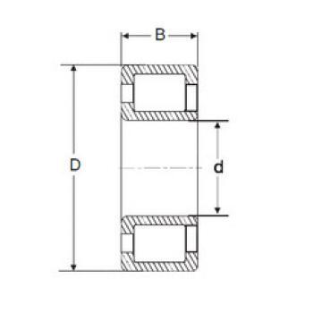 Cylindrical Bearing NJG 2308 VH SIGMA
