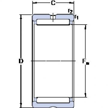 Cylindrical Bearing NK 12/12 SKF