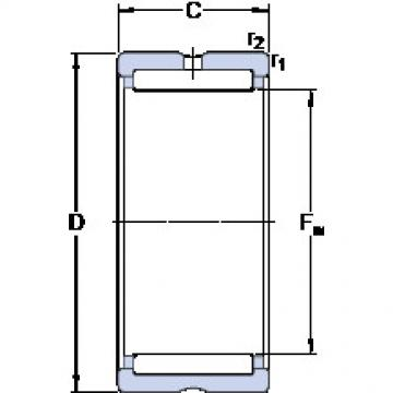 Cylindrical Bearing NK 37/30 SKF