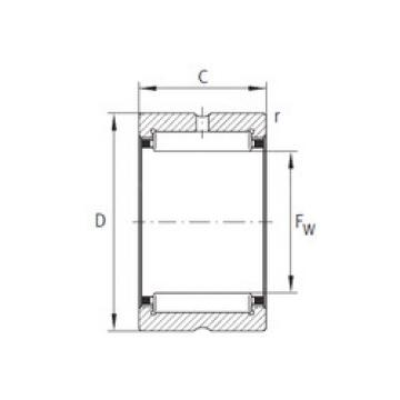 Cylindrical Bearing NK30X47X21 NTN
