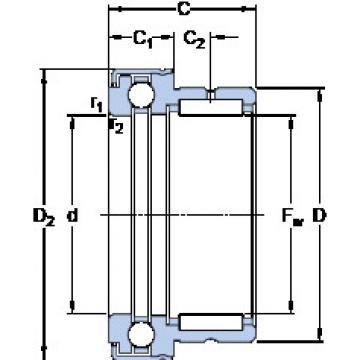 Cylindrical Bearing NKX 35 Z SKF