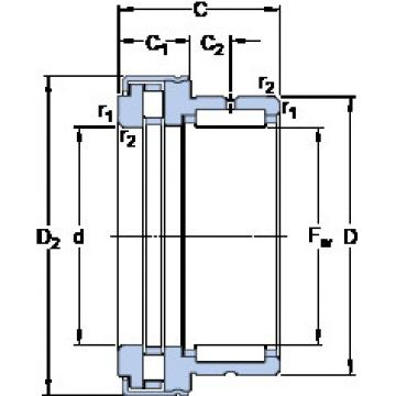Cylindrical Bearing NKXR 20 Z SKF