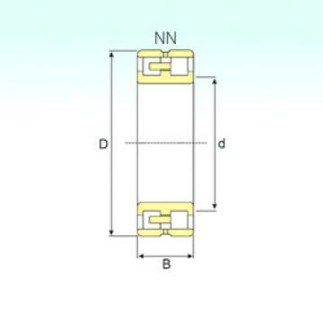 Cylindrical Bearing NN 3008 TN/SP ISB