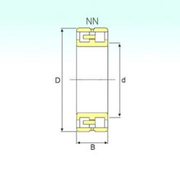 Cylindrical Bearing NN 3016 KTN/SP ISB