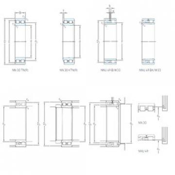 Cylindrical Bearing NN 3008 KTN/SP SKF