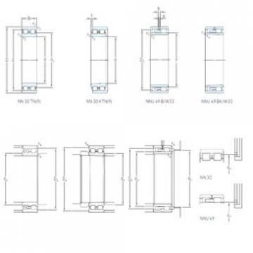 Cylindrical Roller Bearings Distributior NNU 4968 B/SPW33 SKF