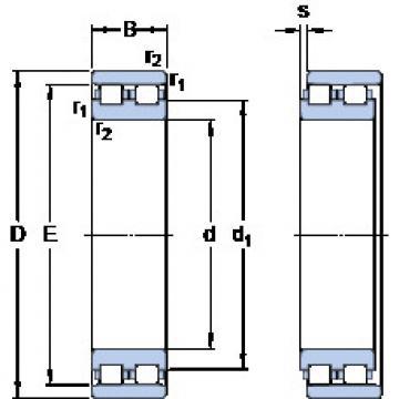 Cylindrical Bearing NN 3022 TN9/SP SKF