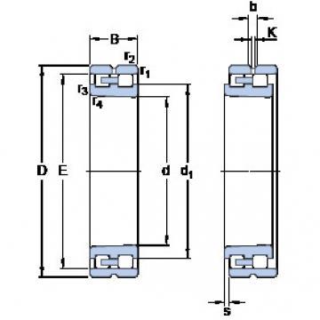 Cylindrical Bearing NN 3092 K/SPW33 SKF