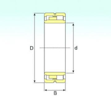 Cylindrical Roller Bearings Distributior NNU 4876 K/W33 ISB