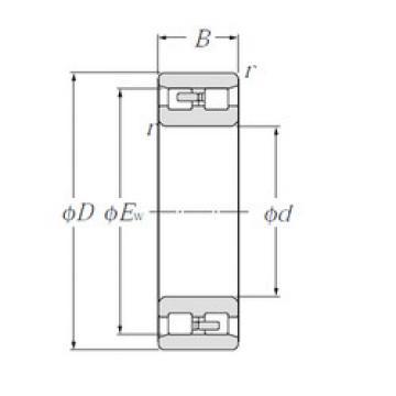Cylindrical Bearing NN3016 NTN