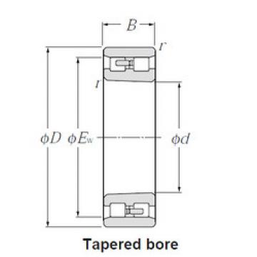 Cylindrical Bearing NN3016K NTN