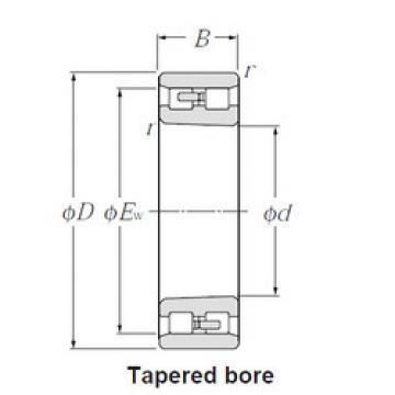 Cylindrical Bearing NN3017K NTN