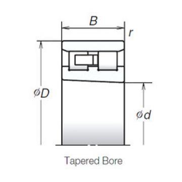 Cylindrical Bearing NN3017ZTBKR NSK