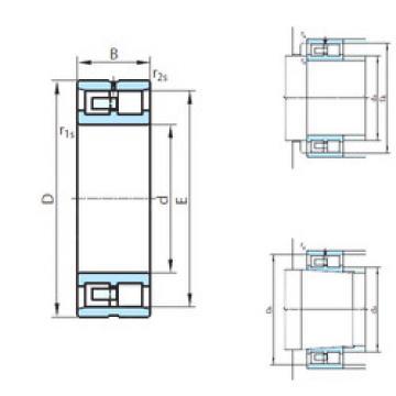 Cylindrical Roller Bearings Distributior NNU4952W33M PSL