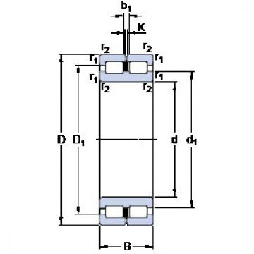 Cylindrical Bearing NNC 4844 CV SKF