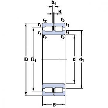 Cylindrical Bearing NNC 4924 CV SKF