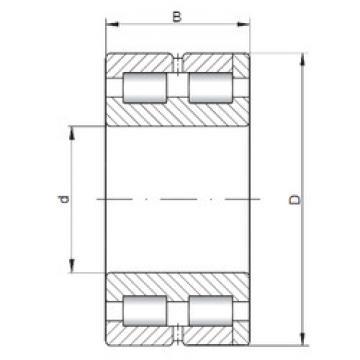 Cylindrical Bearing NNC4968 V ISO