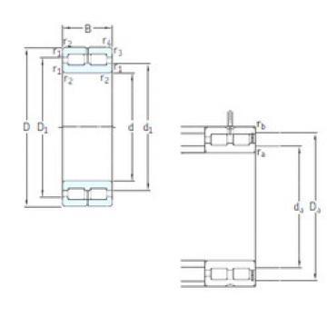 Cylindrical Bearing NNC4876CV SKF