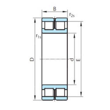 Cylindrical Bearing NNCL4976V PSL