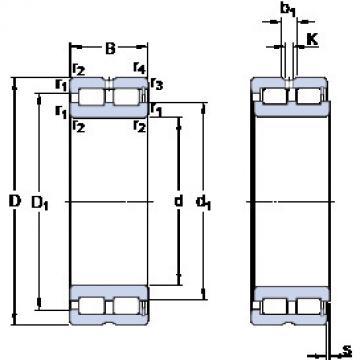 Cylindrical Bearing NNCF 5016 CV SKF