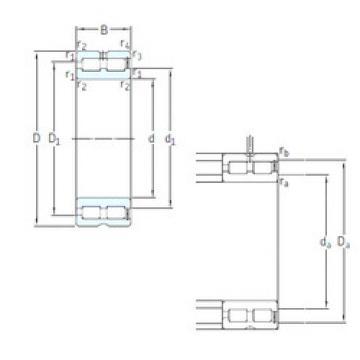 Cylindrical Bearing NNCF5008CV SKF