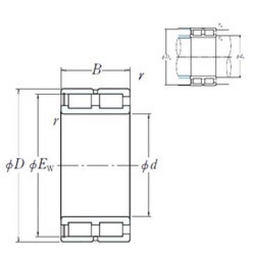 Cylindrical Bearing NNCF4892V NSK