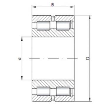 Cylindrical Bearing NNCF5016 V ISO