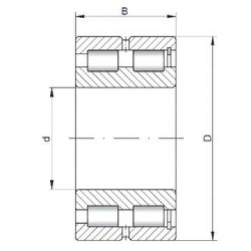 Cylindrical Bearing NNCF5022 V ISO