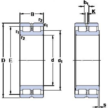 Cylindrical Bearing NNCL 4876 CV SKF