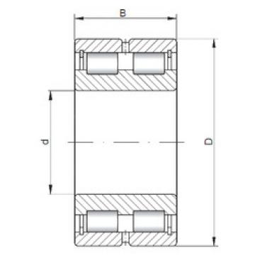 Cylindrical Bearing NNCL4912 V CX