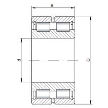 Cylindrical Bearing NNCL4938 V CX