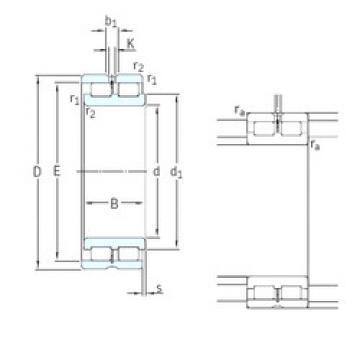Cylindrical Bearing NNCL4968CV SKF