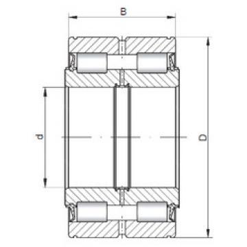 Cylindrical Bearing NNF5008 V ISO