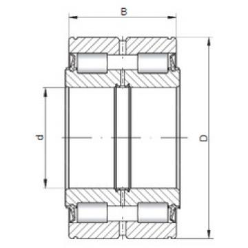 Cylindrical Bearing NNF5015 V CX