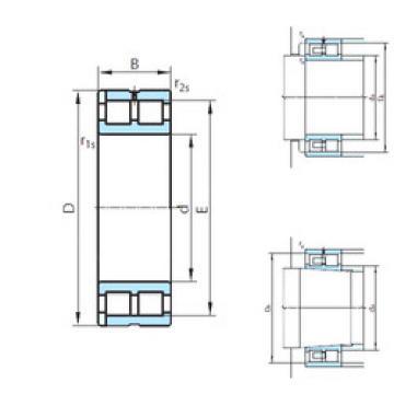 Cylindrical Roller Bearings Distributior NNP4952V PSL