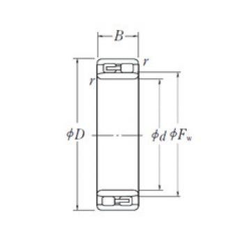 Cylindrical Roller Bearings Distributior NNU 4956 NSK