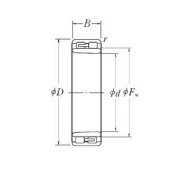 Cylindrical Roller Bearings Distributior NNU 4944 K NSK
