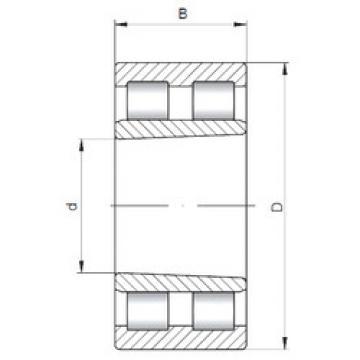 Cylindrical Roller Bearings Distributior NNU4976K ISO