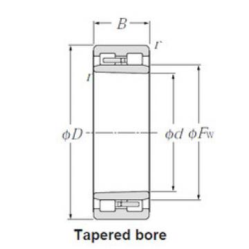 Cylindrical Roller Bearings Distributior NNU4924K NTN